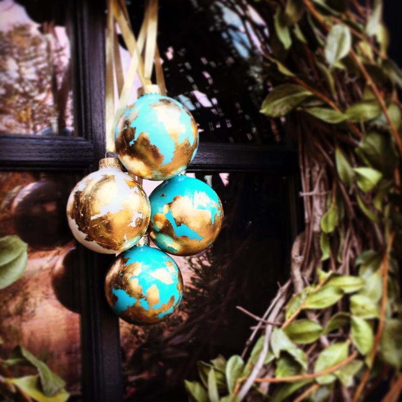 boule Noël globe etsy